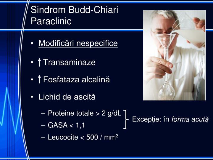 Sindrom Budd-Chiari