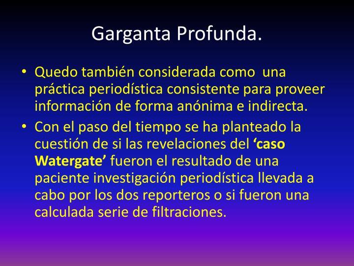 Garganta Profunda.