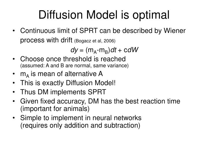 Diffusion Model is optimal