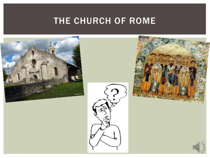 The church of rome