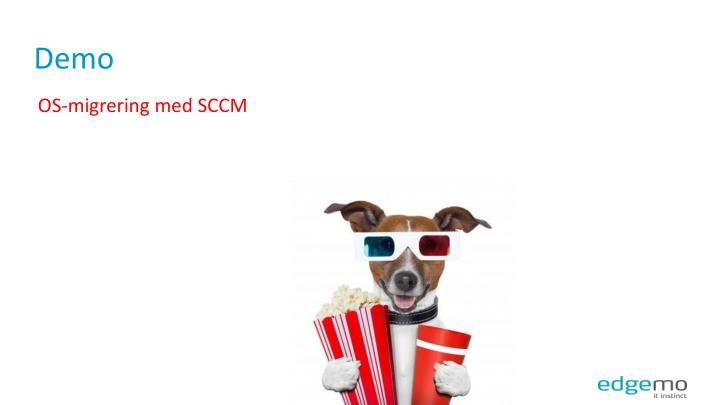 OS-migrering med SCCM