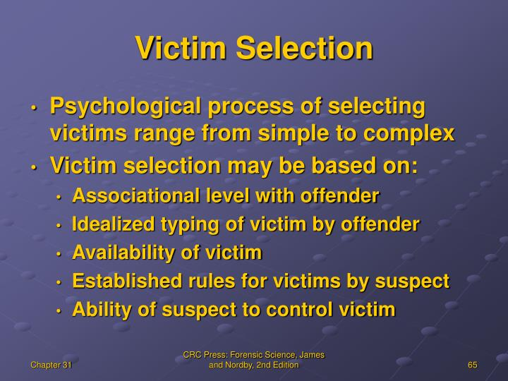 Victim Selection
