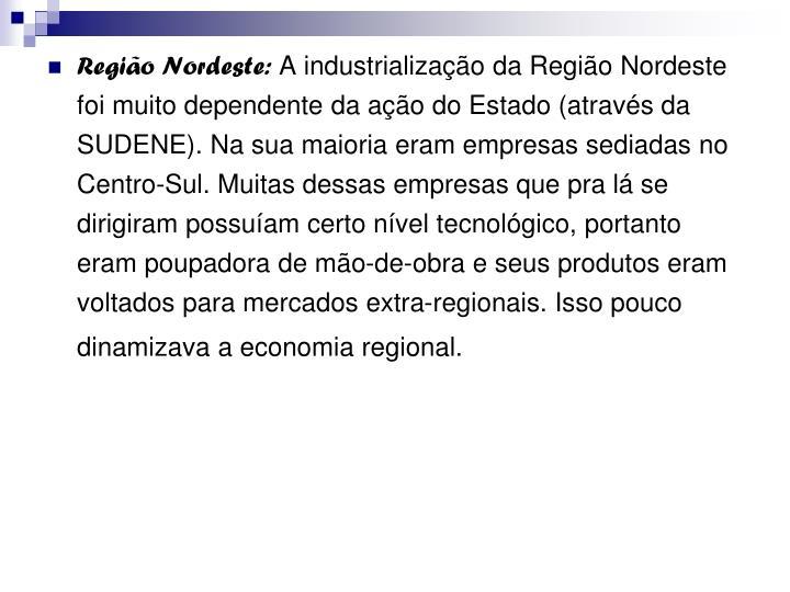 Região Nordeste: