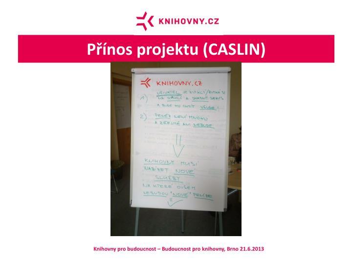 Přínos projektu (