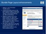 bundle page layout enhancements1