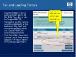 tax and landing factors1