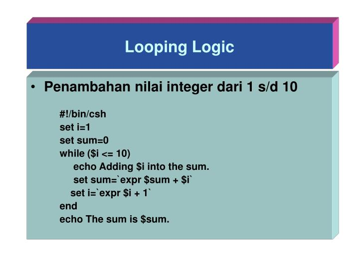 Looping Logic