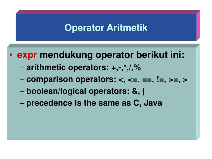Operator Aritmetik