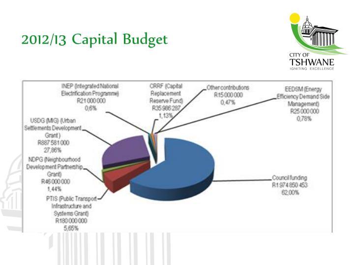 2012/13 Capital Budget