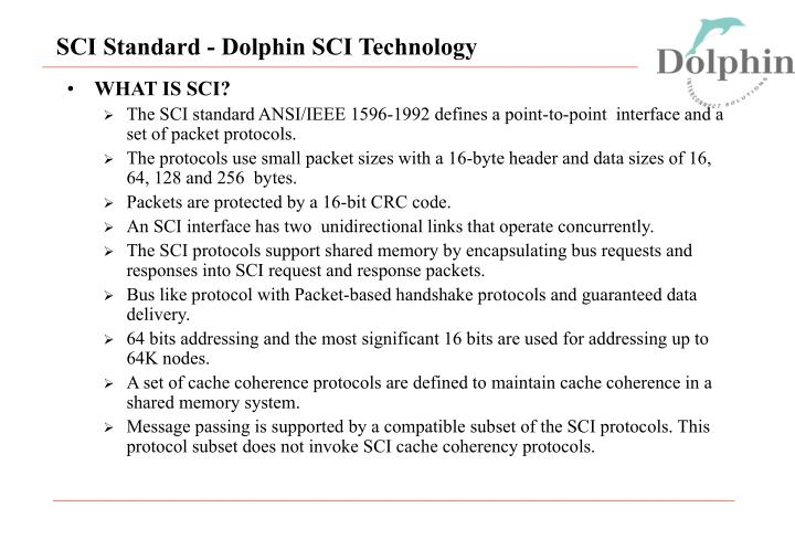 Sci standard dolphin sci technology