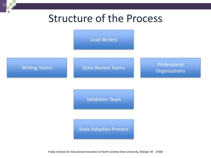 Structure of the Process