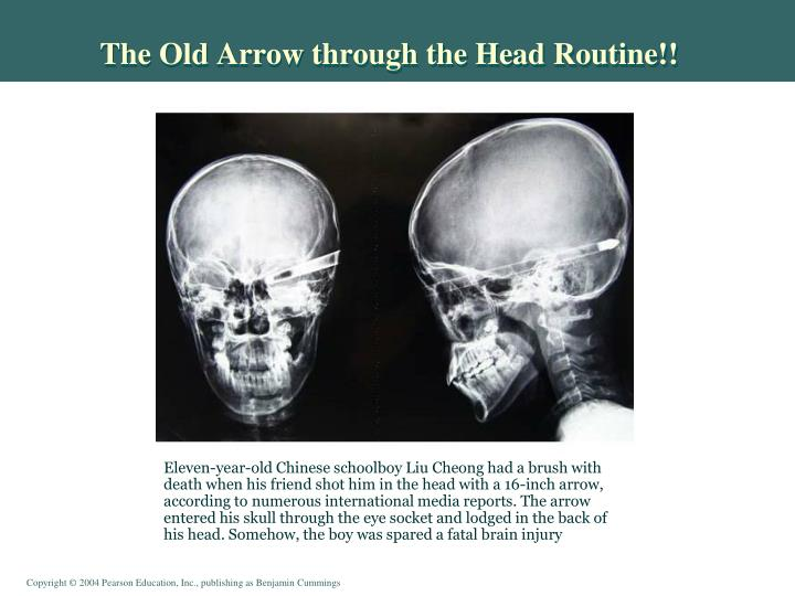 The Old Arrow through the Head Routine!!