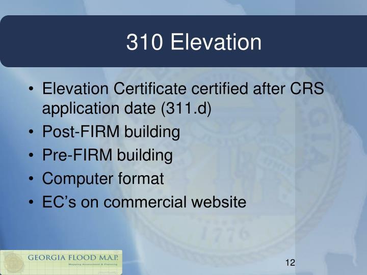 310 Elevation
