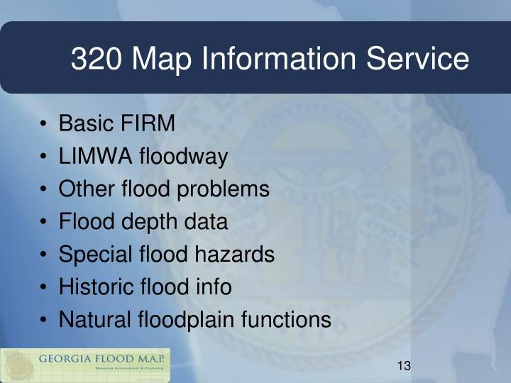 320 Map Information Service