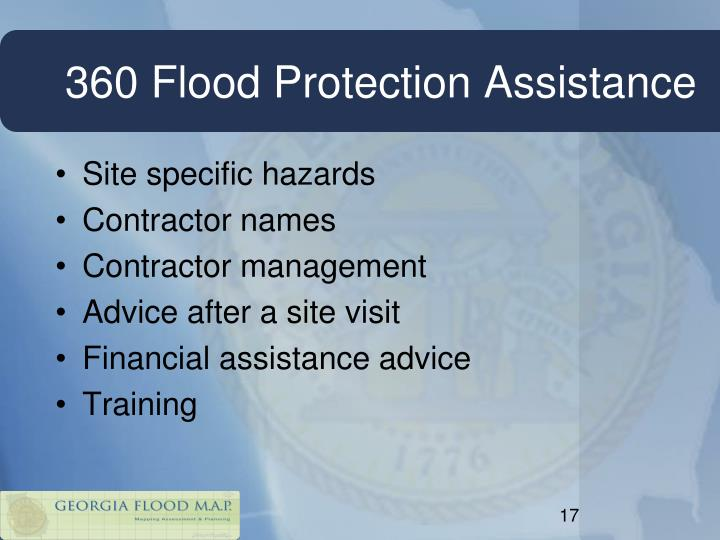 360 Flood Protection Assistance
