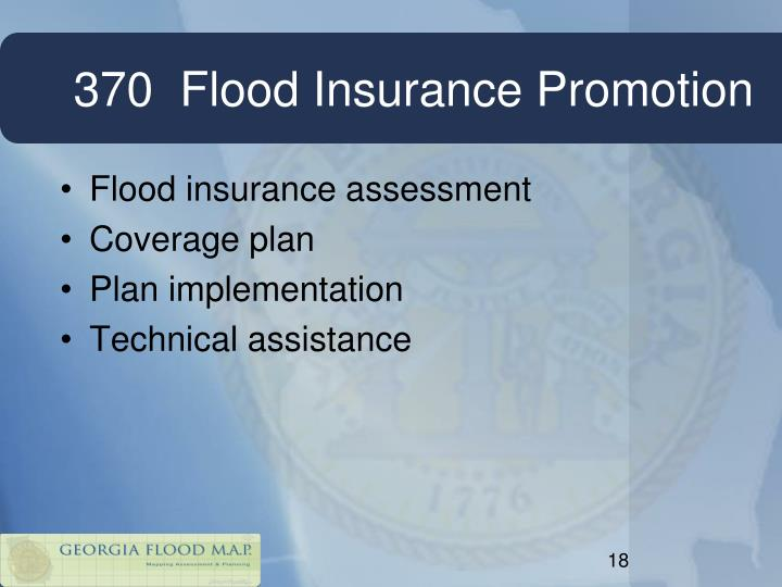 370  Flood Insurance Promotion