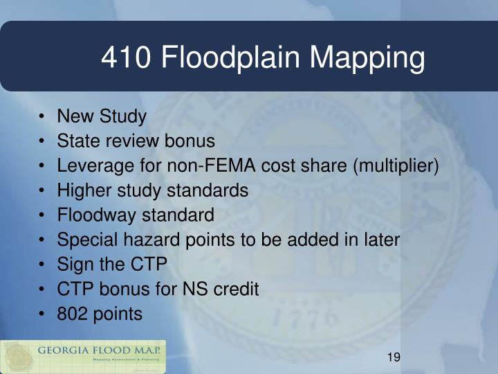 410 Floodplain Mapping