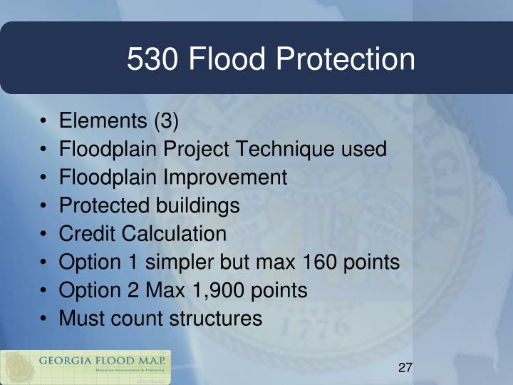 530 Flood Protection