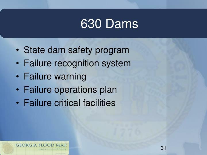 630 Dams