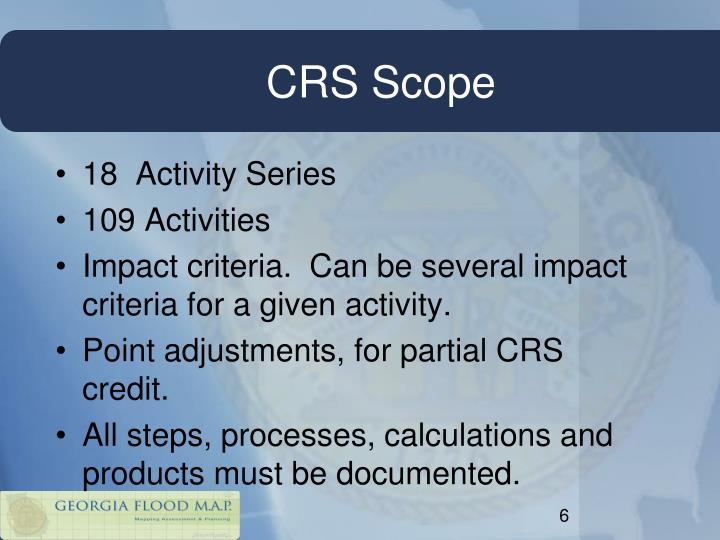 CRS Scope