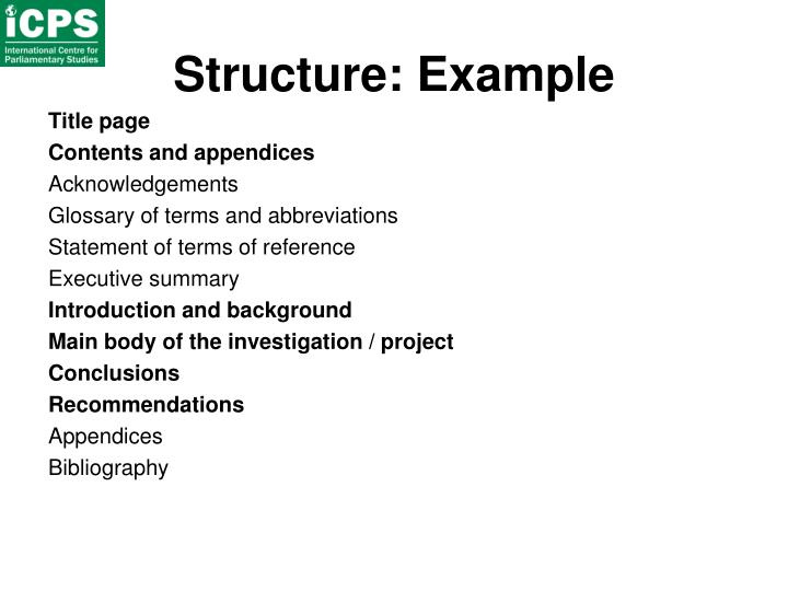 Structure: Example