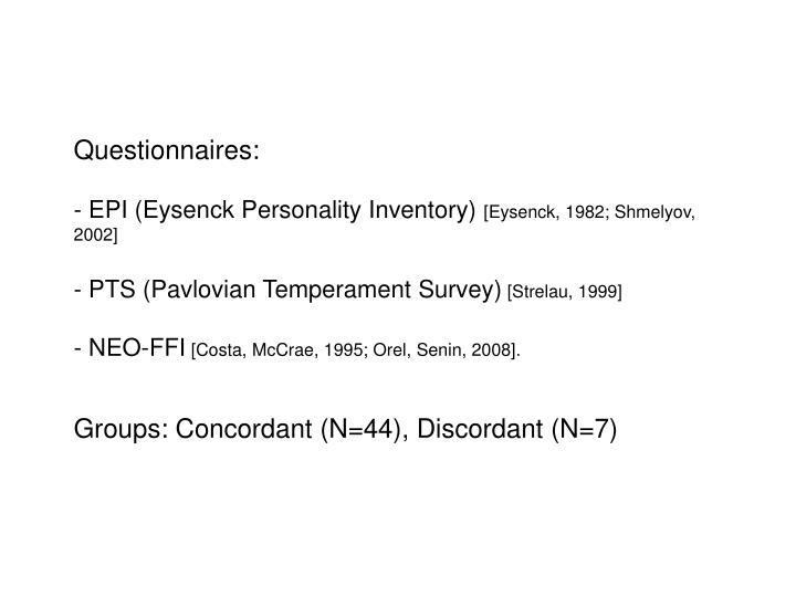 Questionnaires: