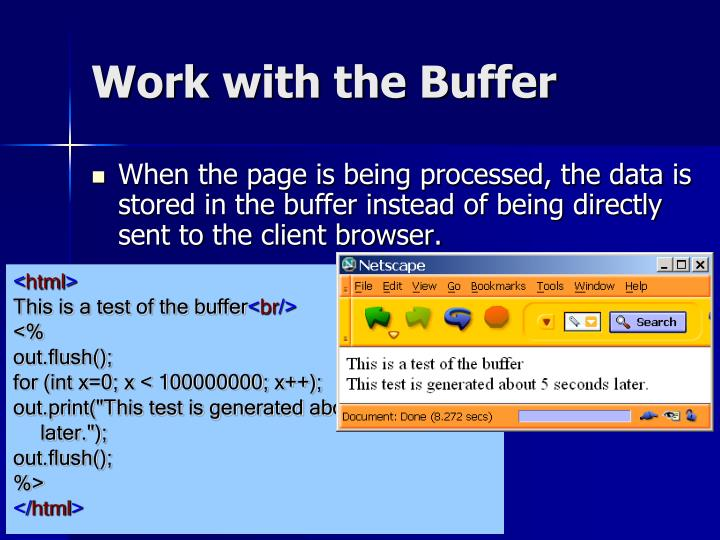 Work with the Buffer