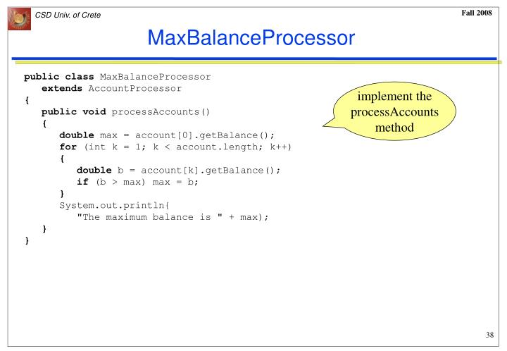 MaxBalanceProcessor