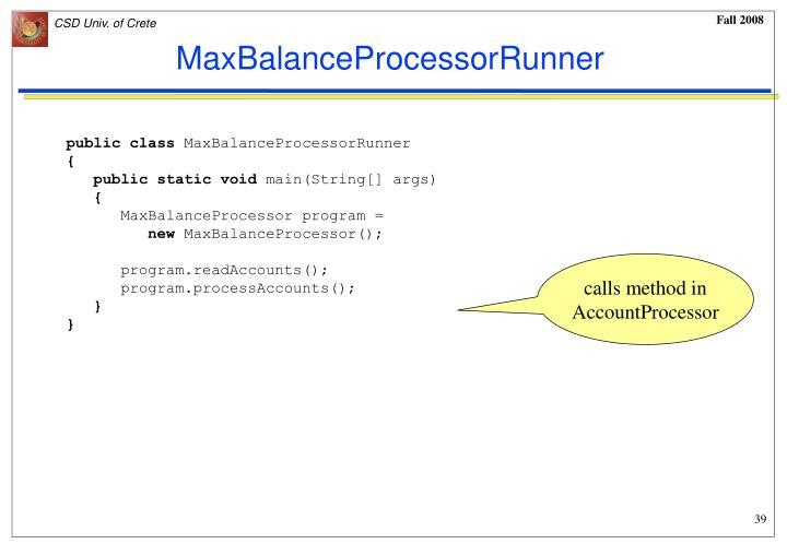 MaxBalanceProcessorRunner