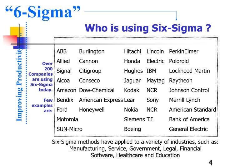 """6-Sigma"""