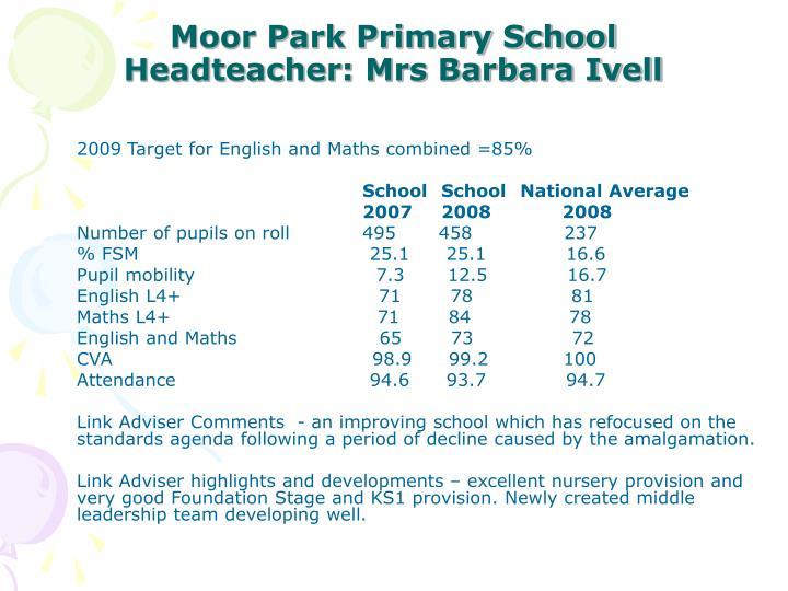 Moor Park Primary School