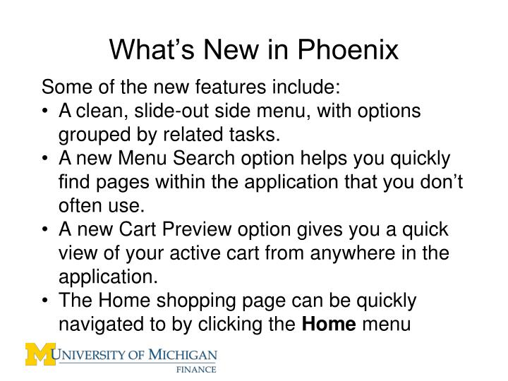 What's New in Phoenix