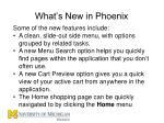 what s new in phoenix