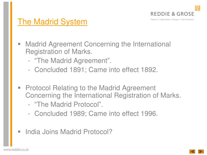 The madrid system1