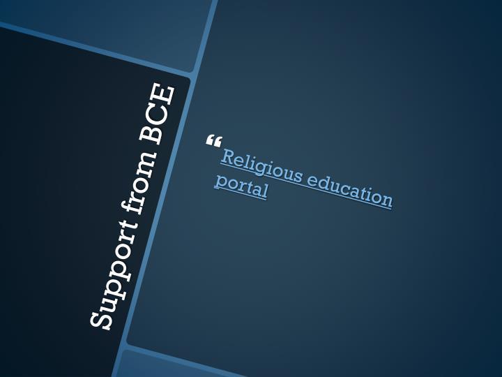 Religious education portal