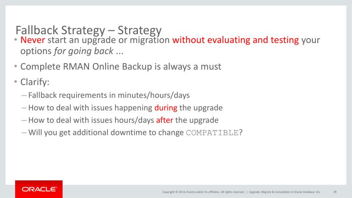 Fallback Strategy – Strategy