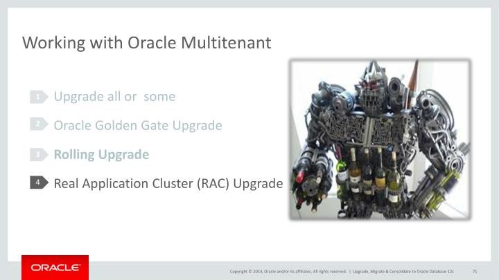 Working with Oracle Multitenant