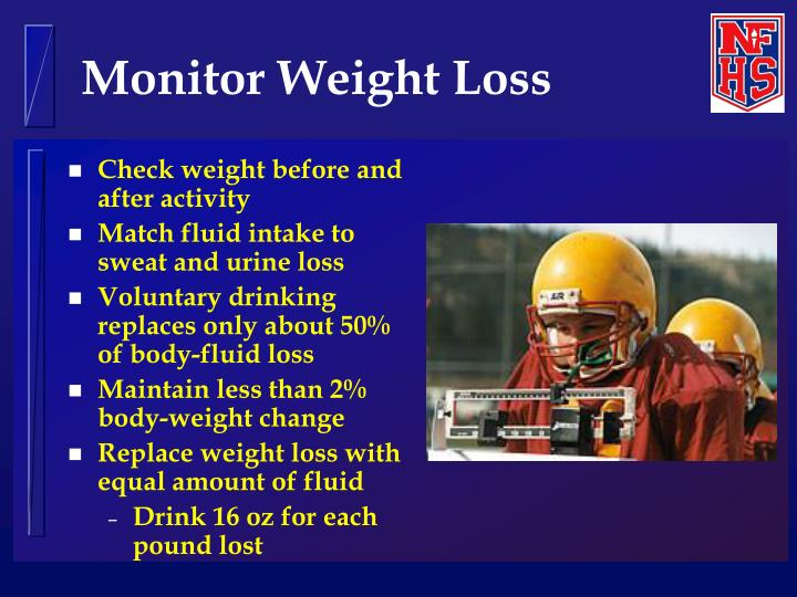 Monitor Weight Loss