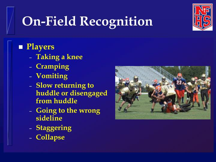 On-Field Recognition