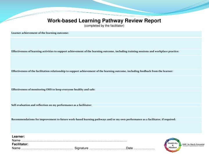 Work-based Learning Pathway Review Report