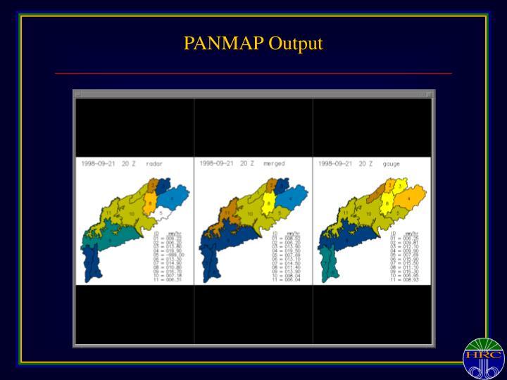 PANMAP Output
