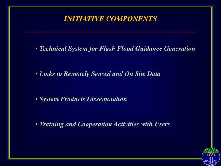 INITIATIVE COMPONENTS