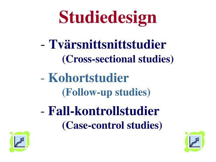 Studiedesign