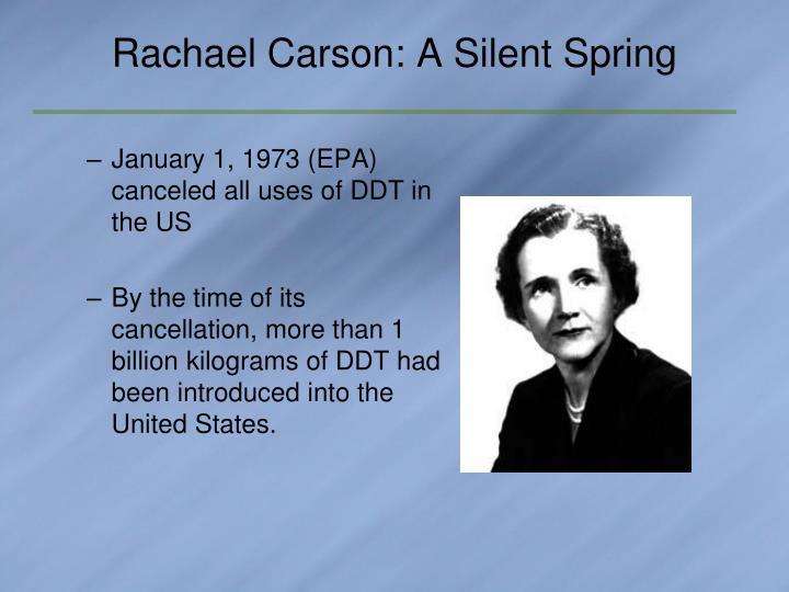 Rachael Carson: A Silent Spring