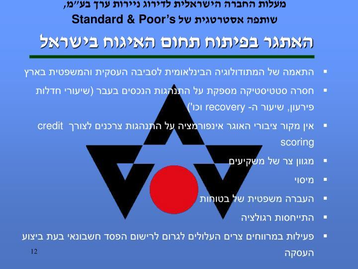 האתגר בפיתוח תחום האיגוח בישראל