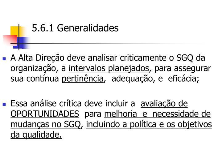 5.6.1 Generalidades