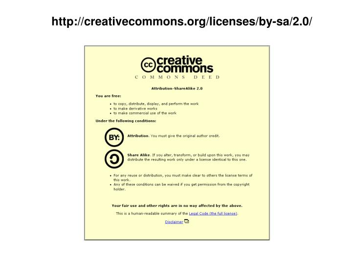 Http creativecommons org licenses by sa 2 0