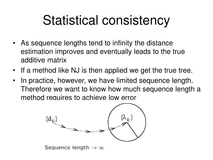 Statistical consistency