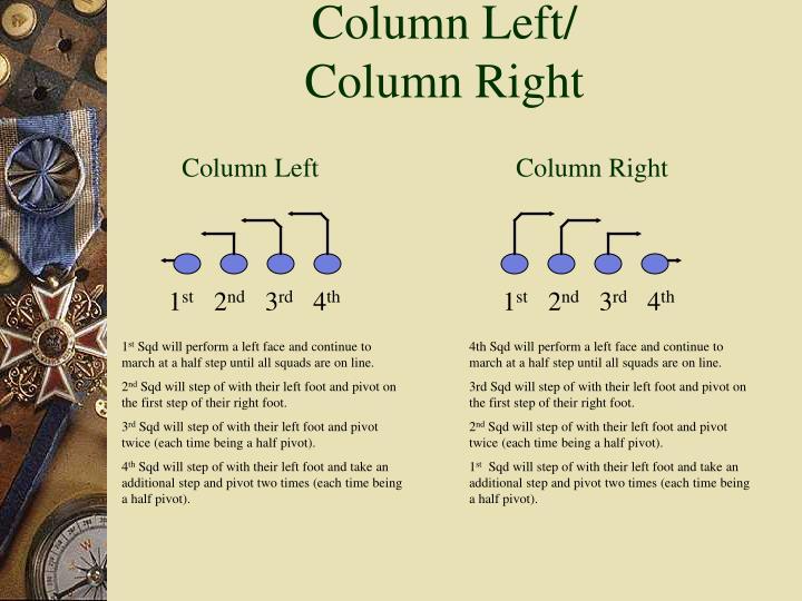 Column Left/