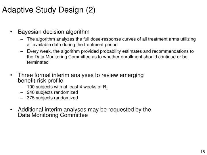 Adaptive Study